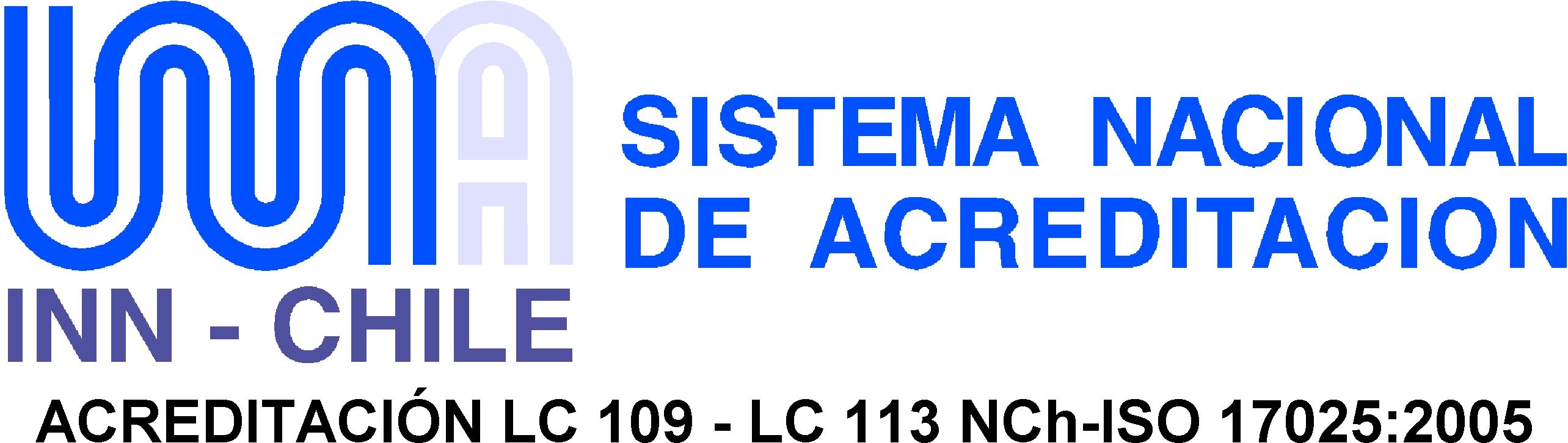 Logo Acreditacion INN a Servincal